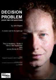 Poster for Decision Problem at DFF