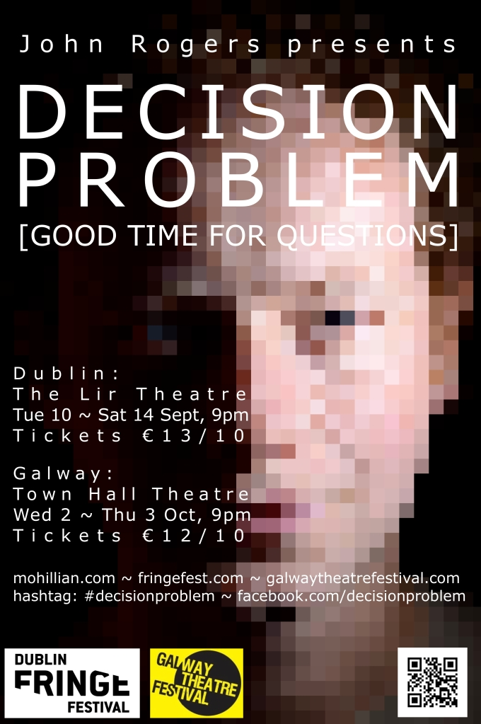 Poster for Decision Problem [Good Time for Questions]