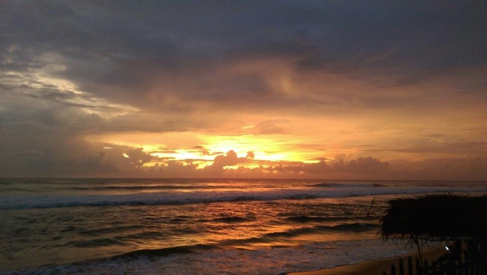 Hikkaduwan sunset
