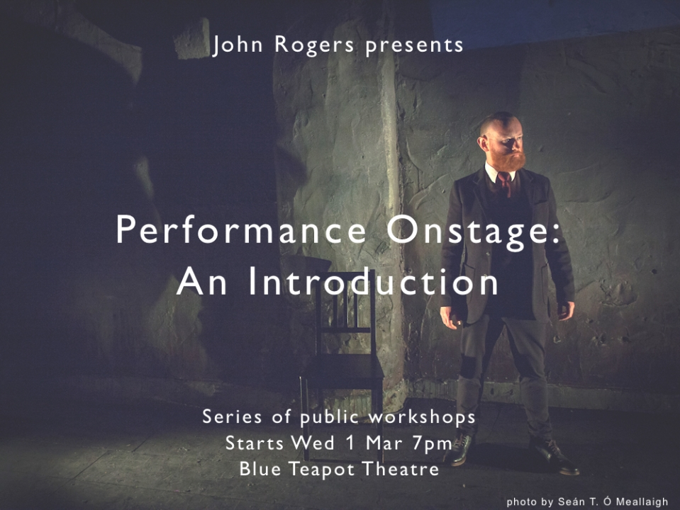Performance Onstage: An Introduction